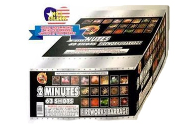 2 Min. Fireworks Barrage FCC1595
