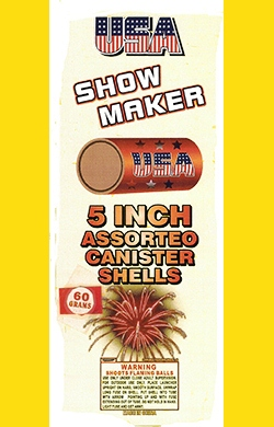 5 Inch Assorteo Canister Sheels